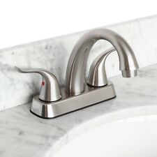 Bathroom Faucet Euro Modern Vanity Brushed Nickel Lb5B by LessCare