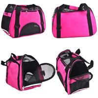 Pet Carrier Oxford Portable Cat Dog Comfort Travel Cage Carry Shoulder Soft Bag