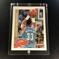 ALONZO MOURNING 1992 SKYBOX NBA HOOPS #2 MAGIC'S ALL ROOKIE TEAM RC NBA HOF