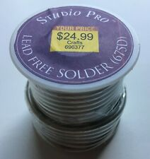 Studio Pro Lead Free Solder (675D) Large Spool