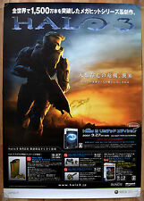 Halo 3 RARE XBOX 360 51.5cm x 73cm Japanese Promo Poster #1