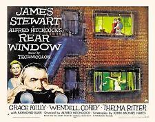 """Rear Window (1954) Movie Silk Poster 20""""x24"""" Alfred Hitchcock James Stewart"""