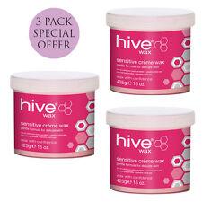 Hive Pink Sensitive Creme Wax 3 x 425g