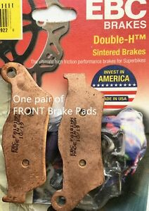 KTM 1090 ADVENTURE BRAKE PADS FULL SET FRONT AND REAR INC R 17-18 EBC SINTERED