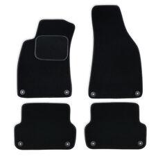 Auto Fußmatten Autoteppich für Audi Seat Exeo 3R 2008-2013 Velours Komplettset