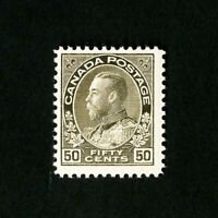 Canada Stamps # 122 VF OG NH Scott Value $225.00