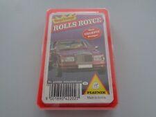 Aus Sammlungsauflösung: Piatnik Nr.422027 Rolls Royce Kartenspiel 90er