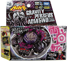 TAKARA TOMY / HASBRO Gravity Perseus Destroyer AD145WD Beyblade BB-80 USA SELLER
