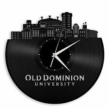 Old Dominion University Vinyl Wall Clock Record Decorative Design Home Decor