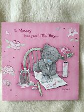 "ME TO YOU TATTY TEDDY ""TO MUMMY FROM LITTLE BOY "" MOTHER'S DAY CARD  From £1"