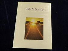 1984 Swan Valley High School Saginaw Michigan Yearbook Annual Valhalla  F