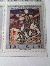ITALIE, 1943 timbre 1196, TABLEAU PEINTURE, VIN, PAINTING, neuf**, MNH STAMP