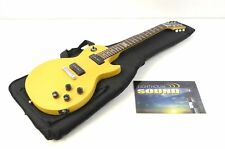 2014 Gibson Melody Maker Electric Guitar - TV Yellow w/Gig Bag P-90s - 120th Ann