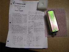 VERSITRON POWER SUPPLY MODULE 6VDC MODEL P12  NSN: 6130-00-009-3475  # 11857