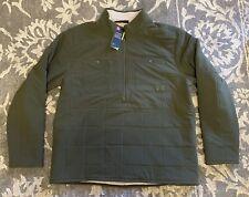 Under Armour ColdGear Latitude 1/2 Zip Pullover Sweater Mens Sz 3XL Olive Green