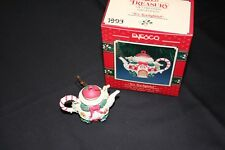 ENESCO Final Issue Tiny Teapot Series 1993 with Box