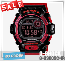 G-SHOCK BRAND NEW WITH TAG G-8900SC-1R BLACK X RED COLOR Digital WATCH