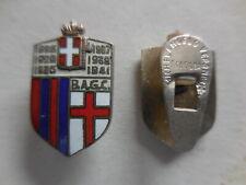 distintivo con piedino calcio football 6 scudetto Bologna 1941 Raro