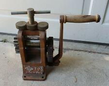 Vintage TATUM T-70 Jewelry Rollimg Mill Spain
