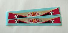HAASE STYLE HELMET VISOR STICKER/STRIP - KARTING