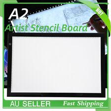 A2 LED Artist Ultrathin Artist Stencil Board Light Box Tracing Drawing Board Pad