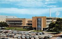 MANHATTAN KS KANSAS STATE COLLEGE STUDENT UNION BUILDING POSTCARD c1950s