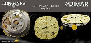 Vintage Original Movement/Longines. Calibre L.633.1 Sphere+Handles+Corona