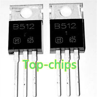 10PCS 2SB512 Encapsulation:TO-220,Silicon PNP Power Transistors