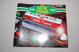 **Original** EX Condition!  1999 LGB TRAIN Sales Catalog Product Brochure Guide