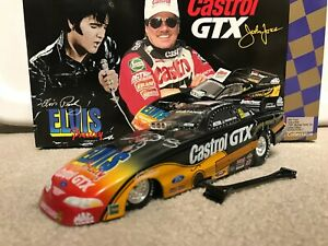ACTION 1/24 1998 JOHN FORCE CASTROL ELVIS NHRA FUNNY CAR DIECAST