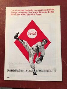 1966  Washington Senators vs Detroit Tigers Baseball Program