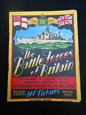 WW2 * BATTLE FORCES OF BRITAIN * History of 3 Fighting Services with Transfers