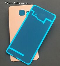 For Samsung Galaxy A3 2016 Back Battery Panel Cover Glass Cover A310F Pink