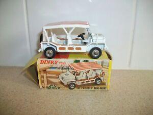 Vintage Meccano Dinky Toys - Mini Moke The Prisoner boxed