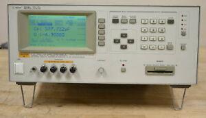 HP Agilent 4284A Precision LCR Meter 20Hz-1MHz, READ