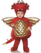 Underwraps Dragon Boys Toddler Red Belly Baby Costume Medium 18/24M