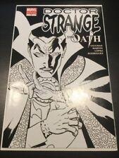 Doctor Strange The Oath #1 Black & White Variant NM- 9.2  Arana & Iron Fist App.