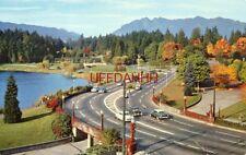 Vancouver, B.C. Canada, Entrance To Stanley Park (Causeway) circa 1955
