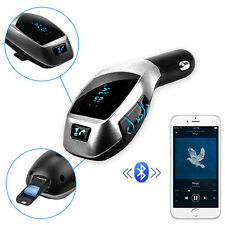 Cheap Wireless Bluetooth X5 Music Player FM LCD Screen Radio Adapter USB Charger