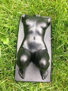 Erotic Nude Female Body Sculpture Sexy Statue Freestanding Torso Wall Hanging