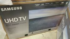 CRACKED SCREEN Samsung UN65MU8000 Smart LED TV - broken, for parts -LOCAL PICKUP