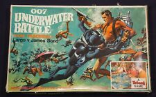 007 THUNDERBALL UNDERWATER BATTLE GAME rare James Bond 007 1966 Board Game