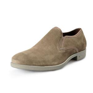 John Varvatos Men's Dylan Sidegore Leather Slip On Loafers Shoes US 8.5 IT 41.5