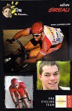 CYCLISME carte cycliste KEVIN SIREALI équipe COFIDIS 2009