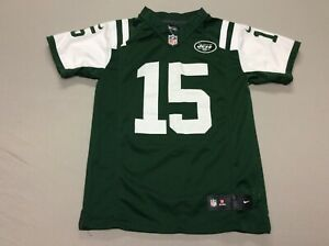 NEW YORK JETS TIM TEBOW STITCHED NIKE GREEN FOOTBALL JERSEY YOUTH KIDS MEDIUM