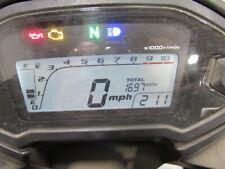 2018 Honda Cbr500r Speedo Gauges Display Cluster Speedometer Tachometer 1,697mi