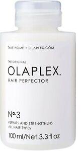 OLAPLEX PROFESSIONAL NO 3 Hair Perfector Bond Strengthening Repairs Hair 30 ml