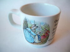 Mug Tea Cup Peter Rabbit Beatrix Potter Wedgwood Flopsy Mopsy Cotton-Tail