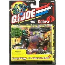 GI Joe Heavy Duty vs Cobra C.L.A.W.S Action Figures NIB 2001 Hasbro Claws