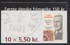 DENMARK HS113 (1199) Stamp on Stamp booklet, VF